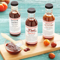 Beer-Infused BBQ Sauce - Set Of 3