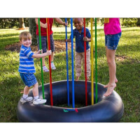 Jungle Jumparoo: Indoor-Outdoor Jungle Gym
