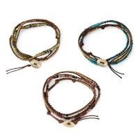 Semi Precious Stone Wrap Bracelet