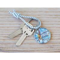CHART Metalworks: Regatta Key Ring