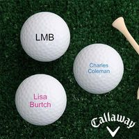 Personalized Callaway Golf Ball Set - Printed..