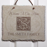 Personalized Slate Sign - Family Is Forever..
