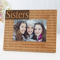Personalized 4x6 Picture Frame With Custom Title..