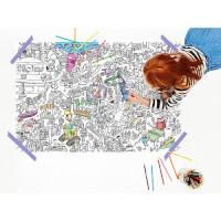 Pirasta: Large Coloring Posters
