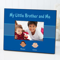 Brother Cartoon Character Personalized Picture..