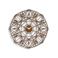 Sarah Mimo: Laser-Cut Sapphire Clock - Espresso..