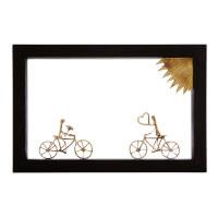 Bike Lovers Wall Sculpture