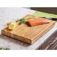 Larch Wood: End Grain Original Cutting Board