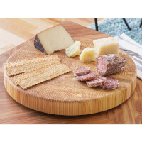 Larch Wood: Original Round Cutting Board