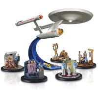 STAR TREK U.S.S. Enterprise Anniversary Figurine..
