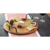 Wine Cask Serving Platters