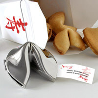 Personalized Silver Birthday Fortune Cookie -..
