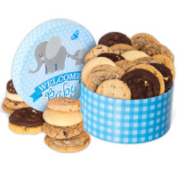 Welcome Baby Boy Cookie Gift Box