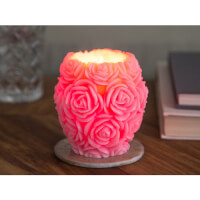 Volcanica Candles: Carved Vase Candle