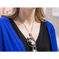 SpexSlide: Necklace Eyeglass Holder