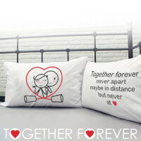 Together Forever® Couple Pillowcases