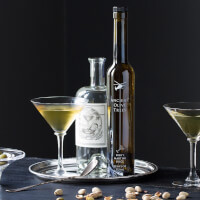 Barrel Aged Dirty Martini Elixir