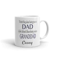Best Thing About Dad Mug