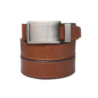 SlideBelts: Top Grain Leather Belt - Walnut -..