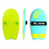 Slyde: Soft Top Handboard - Turquoise And..