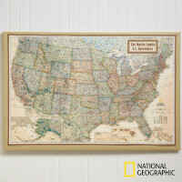 Personalized 20x30 National Geographic U.S...