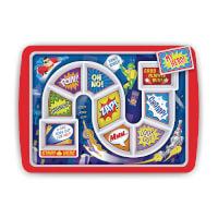 Dinner Winner: Board Game Eating Tray - Super Hero