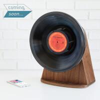 Vintage Vinyl Bluetooth Speaker