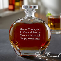 Custom Engraved Whiskey Decanter - Add Any Text