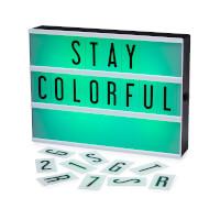 Color Changing Cinema Lightbox
