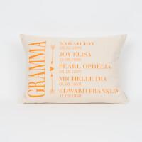 Grandkids Personalized Pillow