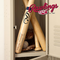 Personalized Rawlings Baseball Bat - Father Of..