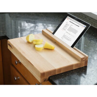 Brooklyn Butcher Blocks: Tablet-Holding Cutting..