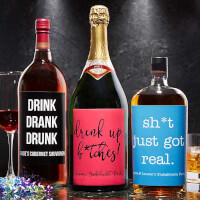 Custom Liquor Labels - Write Your Own