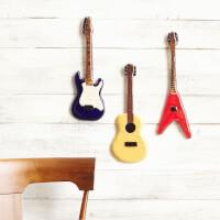 Ceramic Guitar Wall Sculptures