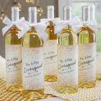 Personalized Wine Labels For Wedding - Sparkling..