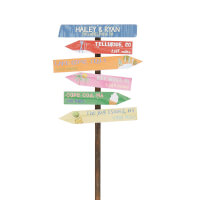 Personalized Travel Milestone Marker