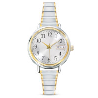 Classic Daytimer Womens Watch With Engraved..