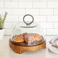 Reclaimed Serving Boards & Cloche