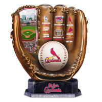 St. Louis Cardinals Tribute Cold-Cast Bronze Glove