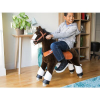 PonyCycle: Horse Ride-On Toy - Chocolate Brown