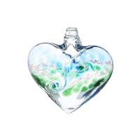 Glass Heart Window Charm