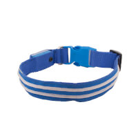 4id: LED Lite Up Collar - Blue - Small