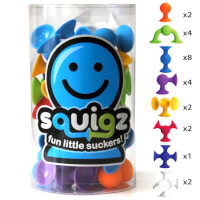 Squigz Starter 24 Piece Set