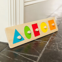 Lets Learn Shapes! Wooden Puzzle