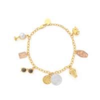 Globe Trotter Charm Bracelet