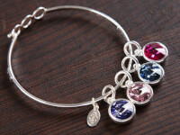 Float Jewelry: Crystal Birthstone Bracelet - 2..