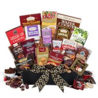 Christmas Chocolates Gift Basket - Deluxe