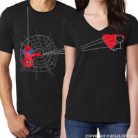 Youve Captured My Heart Coupe Shirts