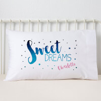 Personalized Kids Pillowcases - Sweet Dreams