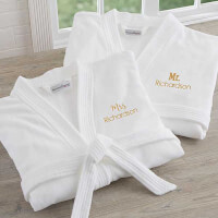 Mr & Mrs Personalized Robe Set